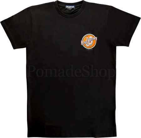 King Brown T-Shirt Insignia black
