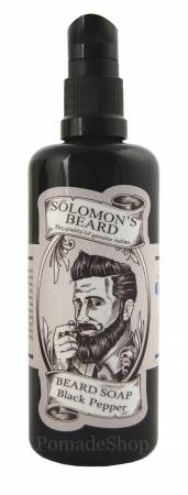 Solomon's Beard Bartseife Black Pepper