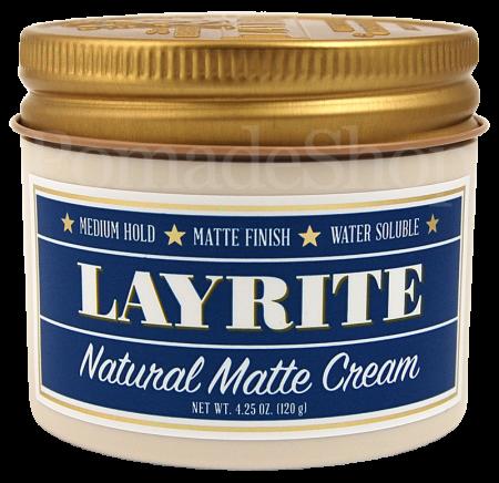 """Layrite NATURAL MATTE Cream """"REGULAR"""""""