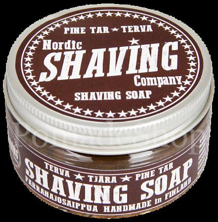 Nordic Shaving Soap Pine Tar