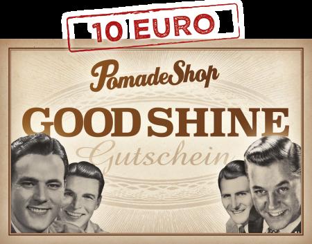 PomadeShop Gutschein 10 Euro