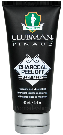 Clubman Pinaud Charcoal Peel-Off Face Mask