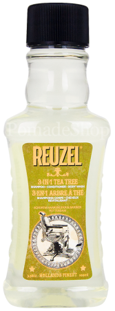 Reuzel 3-in-1 Shampoo Conditioner Body Wash Tea Tree 100 ml