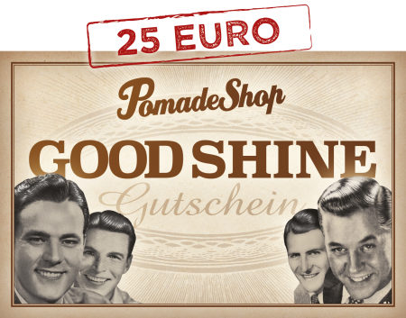 PomadeShop Gutschein 25 Euro