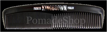 King Brown Black Pocket Comb