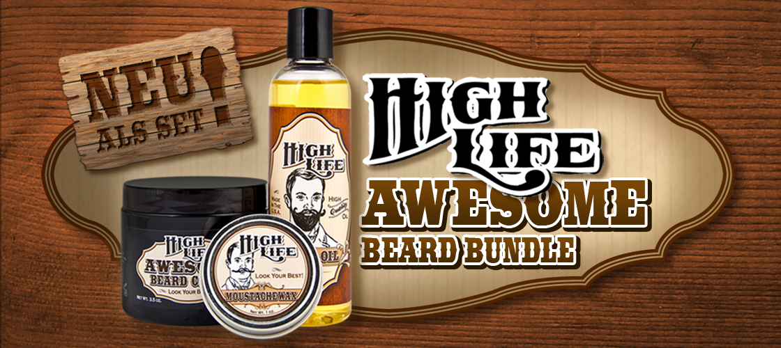 High Life Awesome Beard Bundle
