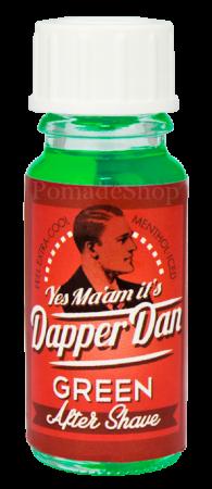 DAPPER DAN After Shave GREEN, Tester 10 ml