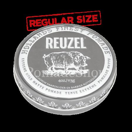 Reuzel Extreme Hold Matte Pomade Regular Size