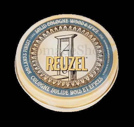 Reuzel Solid Cologne Wood & Spice