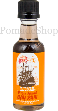 Clubman Virgin Island Bay Rum After Shave Travel Size