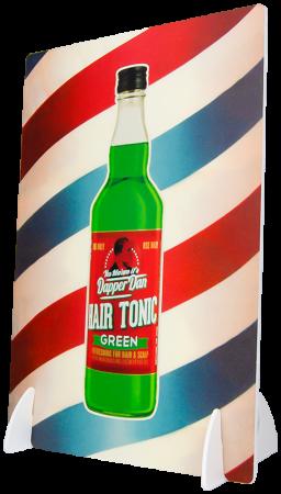 Dapper Dan Hair Tonic Display