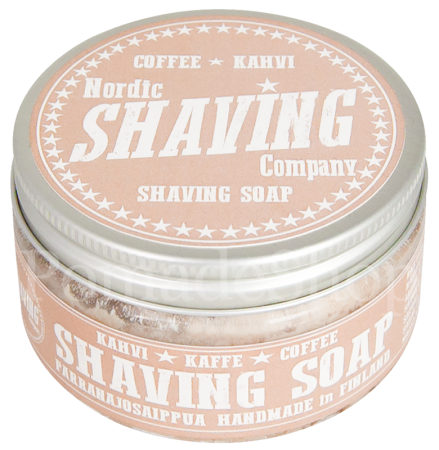 Nordic Shaving Soap Coffee Kahvi