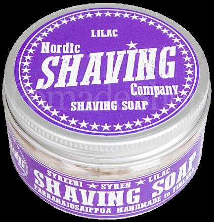 Nordic Shaving Soap Lilac