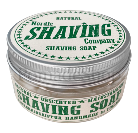 "Nordic Shaving SHAVING SOAP ""Natural"" -Fragrance free"