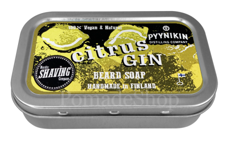 "Nordic Shaving BEARD SOAP ""Citrus & Gin"""