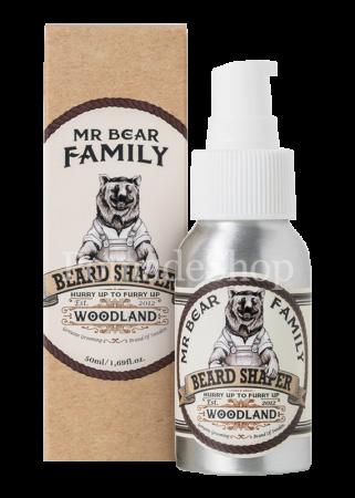 Mr Bear Family Beard Shaper Woodland