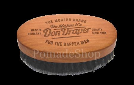 """Don Draper - Ovale Haar- und Bartbürste """"M"""""""