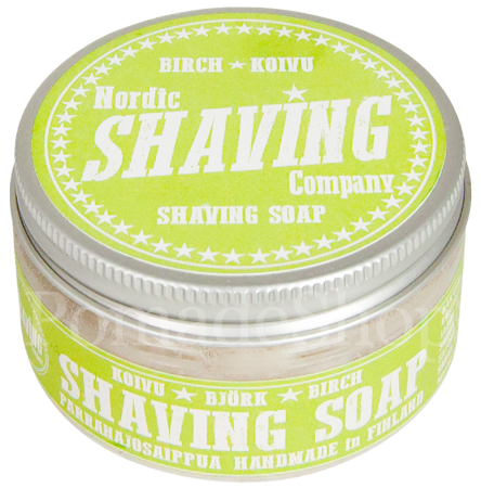 Nordic Shaving Soap Birch Koivu