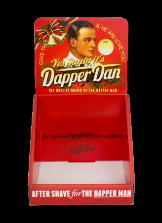 DAPPER DAN Display Christmas Version (für After Shaves)