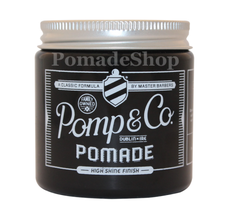 "Pomp & Co Pomade, ""Regular Size"" 4oz"