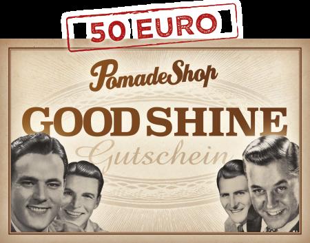 PomadeShop Gutschein 50 Euro