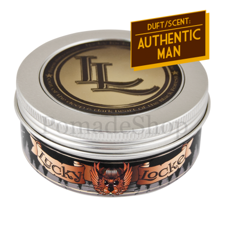 Lucky Locke Authentic Man Black Label Pomade Strong