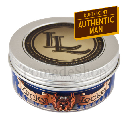 Lucky Locke Authentic Man Blue Label Pomade Light