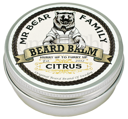Mr Bear Family Beard Balm Citrus