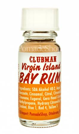 Virgin Island Bay Rum After Shave Tester