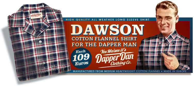 Dawson Cotton Flannel Shirt
