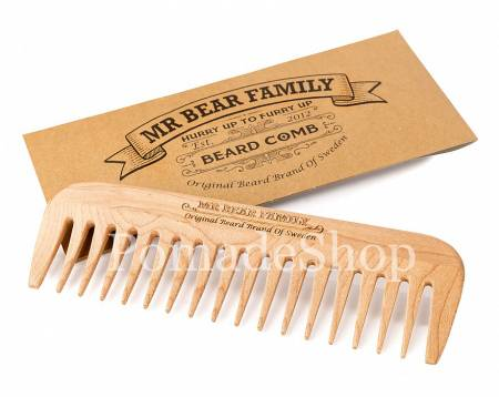 "Mr. Bear Family ""Wooden Comb"" Holzkamm"
