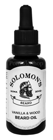 Solomon's Beard Oil Vanilla & Wood
