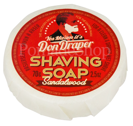 "DON DRAPER Shaving Soap ""Sandalwood"""