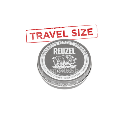 Reuzel Extreme Hold Matte Pomade Small Travel Size