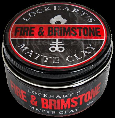 Lockhart's Fire & Brimstone Matte Clay