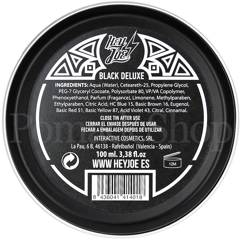 ... Preview: Hey Hoe Black Deluxe Pomade