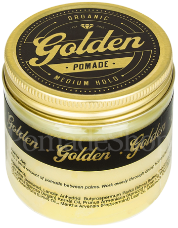 Golden Beards Organic Medium Hold Pomade