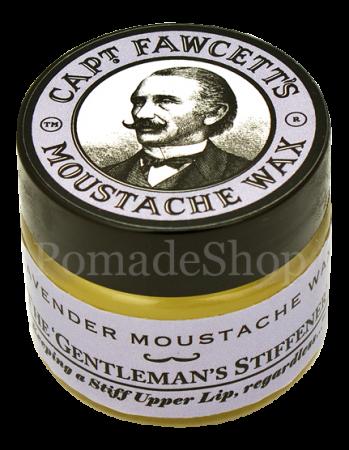 Captain Fawcett Moustache Wax Lavendel