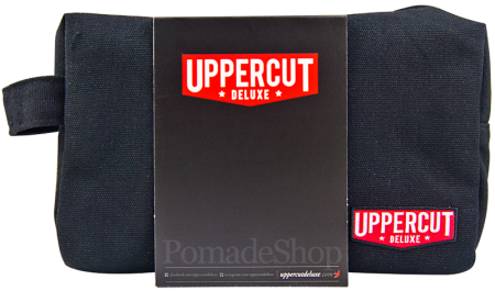 Uppercut Black Wash Bag