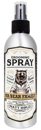 Mr Bear Family Grooming Spray Matt Hold