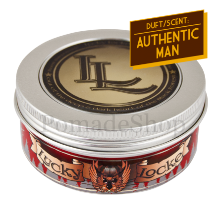 Lucky Locke Authentic Man Red Label Pomade Medium/Strong