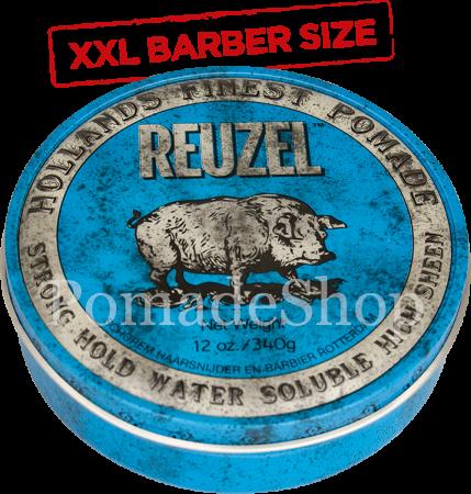 Reuzel blau XXL Barber Size