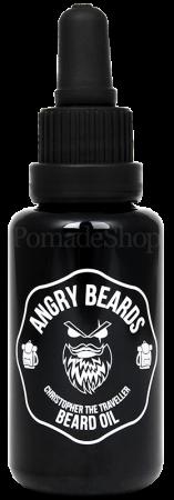Angry Beards Beard Oil Christopher the Traveller 30 ml