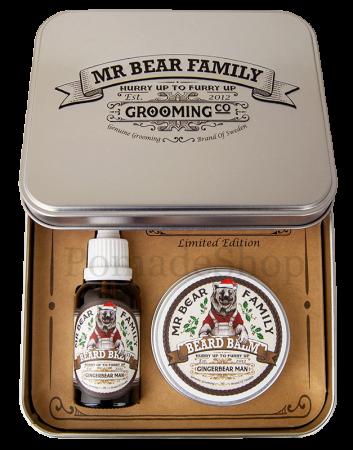 Mr Bear Family Gingerbear Man Set