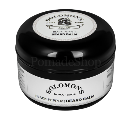 Solomon's Beard Black Pepper Beard Balm