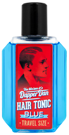 Dapper Dan Hair Tonic Blue Travel Size