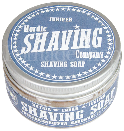 Nordic Shaving Soap Juniper