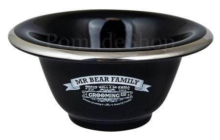 Mr Bear Family Shaving Bowl Porcelain