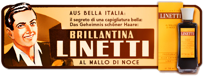 "Brillantina Linetti ""Al Mallo Di Noce"", 50 ml"