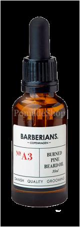 Barberians Beard Oil Burned Pine